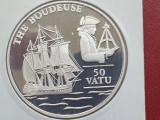 VANUATU 50 VATU/1993/aRGINT 925/31.47 g/ UNC/ PROOF