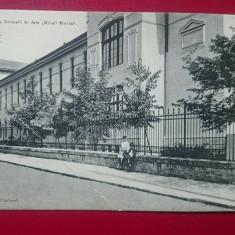 Iasi scoala normala de fete Mihail Sturza / pliu oblic colt stanga jos