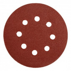 Discuri abrazive cu orificii 125mm GR60, 5 buc, Yato YT-83452