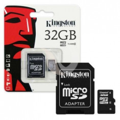 Carduri de memorie, kingston micro sd, 32gb, class 4