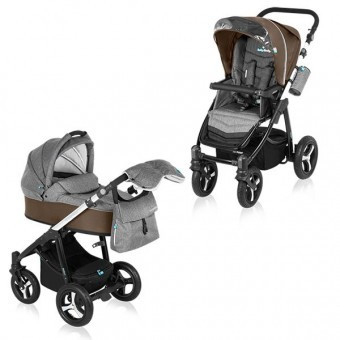 Carucior 2 in 1 Baby Design Husky Winter Pack Beige foto