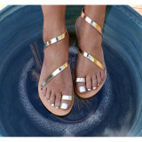 Cumpara ieftin Sandale Dama Grecesti Esmeralda Aurii