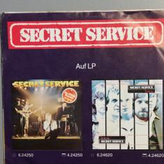 Secret Service – L.A. Goodbye/Broken....(1981/Sonet/RFG) - Vinil Single pe '7/NM