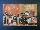 ALEXANDRU MITRU - LEGENDELE OLIMPULUI. ZEII / EROII 2 volume (1960)