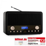 Auna Digidab Retro DAB / DAB + Radio Digital portabil AM / FM PLL ceas