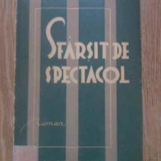 SFARSIT DE SPECTACOL - OVIDIU CONSTANTINESCU