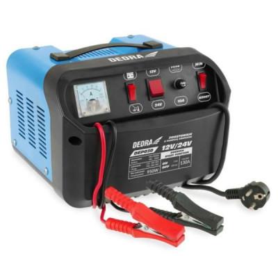 DEDRA Redresor baterie auto cu functie de pornire 12/24V 20-350Ah DEP030 foto