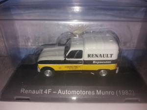 Macheta Renault 4 F - Automotores Munro - 1982 - Deagostini Argentina 1:43