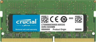 Memorie laptop Crucial 4GB (1x4GB) DDR4 3200MHz CL22 foto