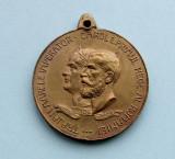 Medalie  -  EXPOZITIUNEA  GENERALA  ROMANA  DIN BUCURESTI 1906