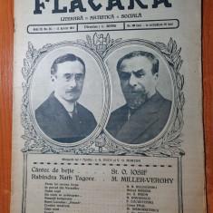 flacara 12 aprilie 1914-akim de victor eftimiu,art. farsa lui coconu iorgu