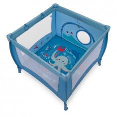 Baby Design Play UP 03 blue 2018 Tarc de joaca cu inele ajutatoare