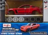 Maisto1:24-Linie de Asamblare-Ford Mustang Boss 302, Maisto