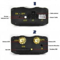 Gps Tracker Auto cu localizare si urmarire GPS, microfon, autonomie