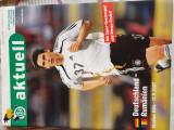 Program meci Germania-Romania