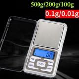 Cantar Electronic Bijuterii / Medicamente / Monede 0.1G 500G