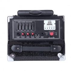 Boxa activa portabila Temeisheng Q8 cu stick USB si SD-card
