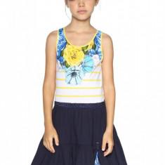 Rochie fete, evazata El Cairo, Desigual, Marimea 9-10 ani, Bleumarin