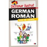 Carte Editura Litera, Dictionar ilustrat german-roman. 1000 de cuvinte