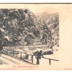 SV * Romania  COTUL  MARIOAREI * PEISAJ PE JIU * Targu Jiu / Valea Oltului, Circulata, Necirculata, Fotografie, Printata