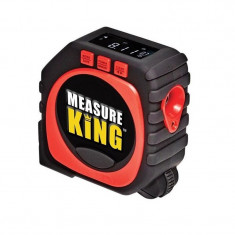 Ruleta multifunctionala 3 in 1 Measure King, LED