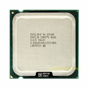 Procesor PC Intel Core 2 Quad Q9500 SLGZ4 2.83Ghz LGA775 foto
