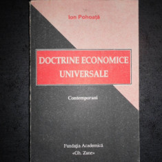 ION POHOATA - DOCTRINE ECONOMICE UNIVERSALE