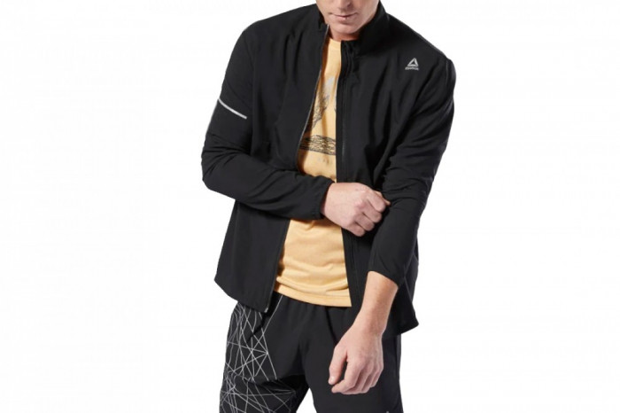 Jacheta sport Reebok Run Essentials Woven Jacket DU4303 pentru Barbati