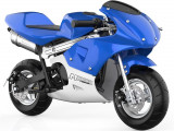 Motocicletă pentru copii MotoTec, Bleu