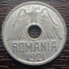 (MR57) MONEDA ROMANIA - 50 BANI 1921, Aluminiu