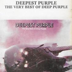 Caseta Deep Purple – Deepest Purple: The Very Best Of Deep Purple, originala