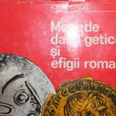 MONEDE DACO - GETICE SI EFIGII ROMANE - ION DONOIU