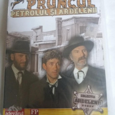 PRUNCUL, PETROLUL SI ARDELENII - FILM DVD, Romana