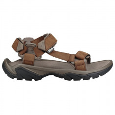 Sandale Bărbați Outdoor Piele Teva Terra Fi 5 Universal Leather Men, 39.5, 40.5, 42, 43, 44.5, 45.5, Maro