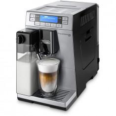 Espressor automat DeLonghi Prima Donna XS ETAM 36.365.MB, 1450 W, 15 bari, 1.3 l, carafa lapte, display LCD, metalic/negru