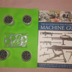 airsoft 1.500 bile otel 6 mm cadou catalog machine guns + rozeta pumnal box