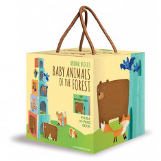 Cuburi Eco-Blocks - Animalutele si puii lor