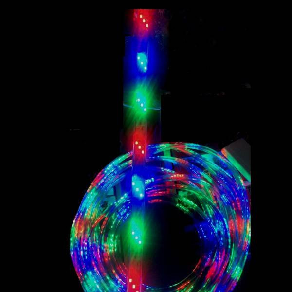 Furtun Luminos 50m cu Banda 3900 LED SMD Jocuri Lumini Multicolore CLTO