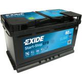 Baterie auto Start-Stop 80Ah, 720A, 80 - 100, Exide