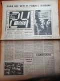Ziarul 24 ore din 1 februarie 1990- ziar din iasi