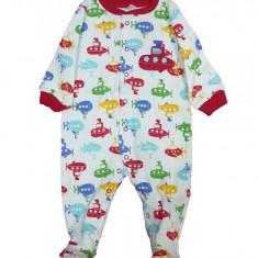 Salopeta / Pijama bebe cu submarine Z65, 1-2 ani, 1-3 luni, 12-18 luni, 6-9 luni, 9-12 luni, Multicolor