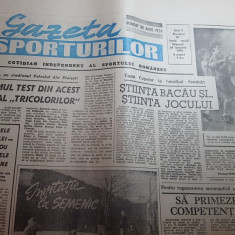 gazeta sporturilor 24 ianuarie 1990-handbal feminin stiinta bacausi art. semenic