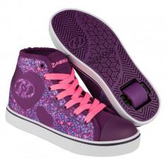 Heelys Veloz Purple/Pink/Heart, 31 - 35, 38, 39