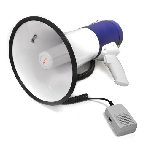 Auna Megafon compact 80W 1000 m sirenă