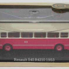 Macheta autobuz Renault  S45 R4210 - 1953 - Atlas scara 1:72