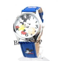 Set ceas pentru copii cu Mickey Mouse si portofel cadou