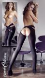 Colanti Decupati Sexy, Negru, S/M