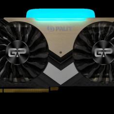 Placa video PALIT GeForce GTX 2080Ti Dual, 11G GDDR6, 352bit, BoostClock: 1545 MHz, Graphics Clock: 1350 MHz, Memory Clock: 14Gbps, CUDACores: bulk