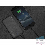 Acumulator Extern Samsung Galaxy Note 4 Dual USB 10000mAh USAMS Mozaic Negru