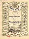 Ochi Negri Al.Blaremberg/ Mihail Margartiescu Op. 31 Partitura Muzica Romaneasca